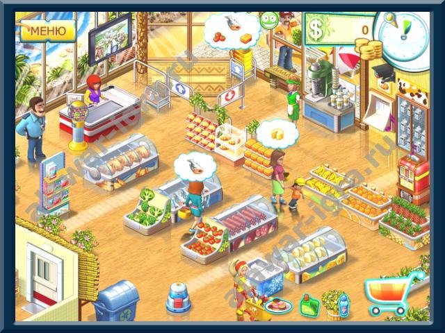 Увеличить скриншот к мини-игре Супермаркет мания 2. Cкриншот к мини-игре Су